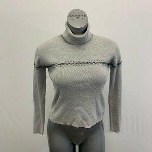Eddit Bauer Turtleneck Sweater Women's XS Gray